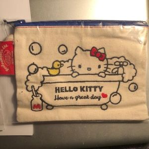 Original Hello Kitty zippered pouch. BooFooWoo Co